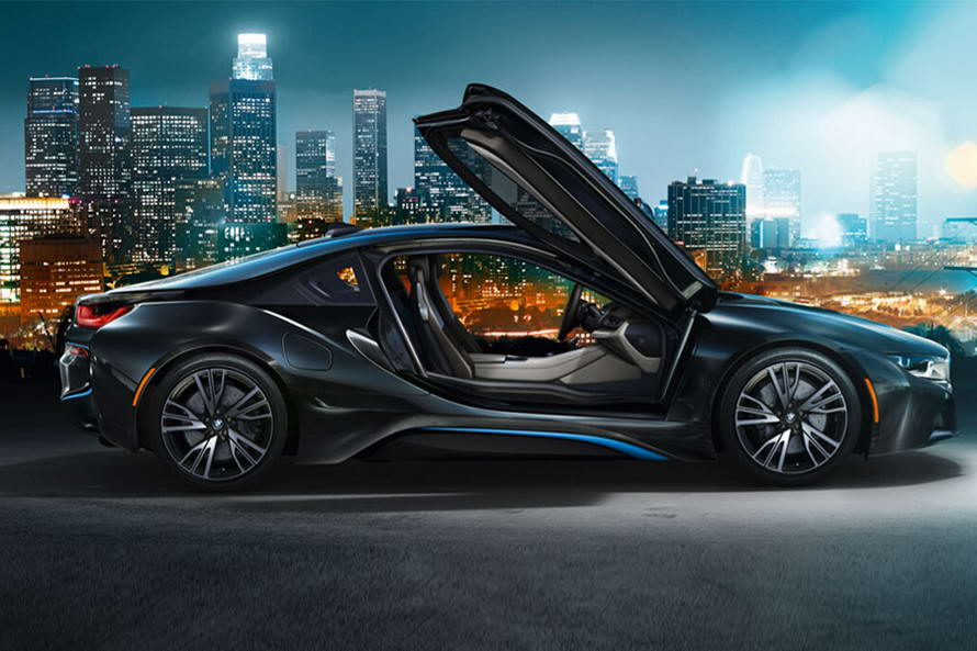 Electric cars BMW group