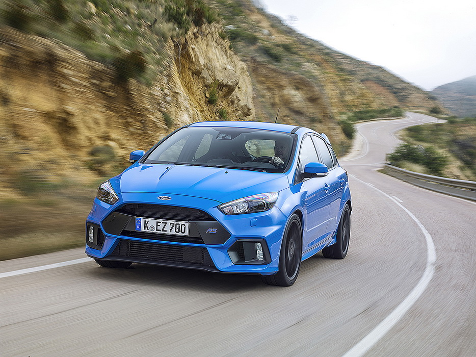 Νέο Ford Focus RS