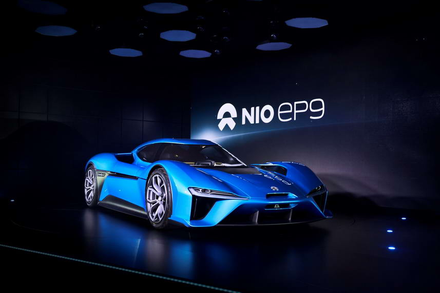 NextEV Nio EP9 electric