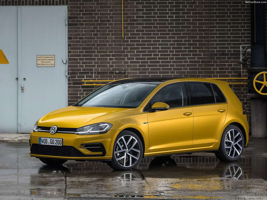 VW Golf the update 2017