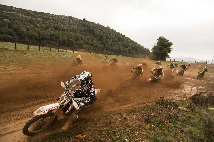 H Husqvarna Motul MX team στη Χαλκίδα