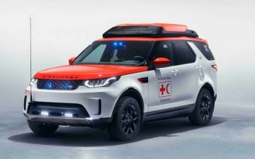 Land Rover Discovery Project Hero 21