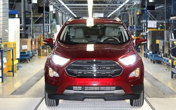 Ford EcoSport on the line 17