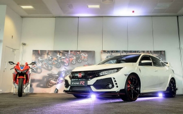 25 years of Fireblade and Type R 15