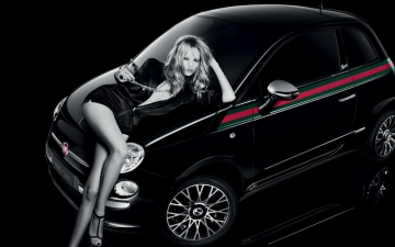 Fiat-500 Gucci Vogue