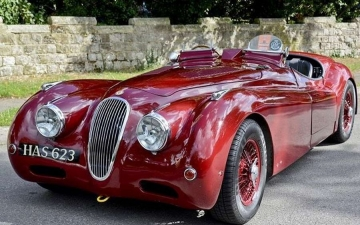Jaguar Roadster 45