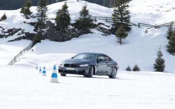 BMW winter driving experience 12