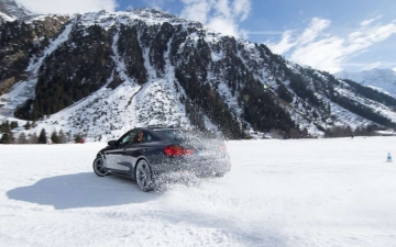 BMW winter driving experience 13