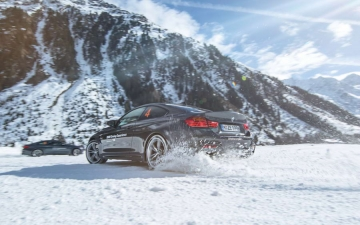 BMW winter driving experience 15