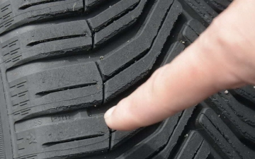 Michelin tire tread 14