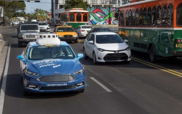 Autonomus delivery Ford 13