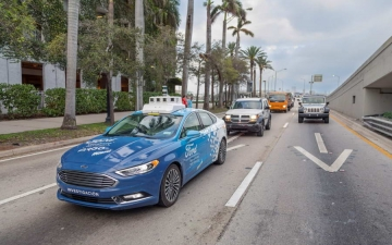Autonomus delivery Ford 14