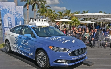 Autonomus delivery Ford 21