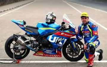 SUZUKI WINS SENIOR TT 16