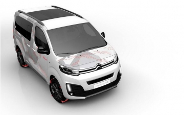 No 29 Citroen space tourer E concept