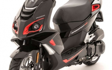 Speedfight 4 125cc Safran Red 01