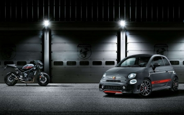 No 12 Abarth 695 XSR Yamaha Limited Edition