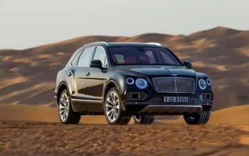 Bentley Bentayga Falconry 22
