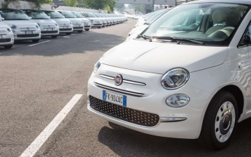 Fiat 500 Record Guiness 16