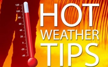 Hot weather tips 10