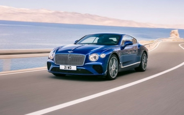 New Bentley Continental GT 11