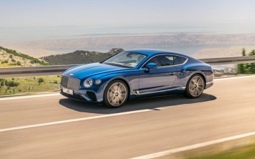 New Bentley Continental GT 12