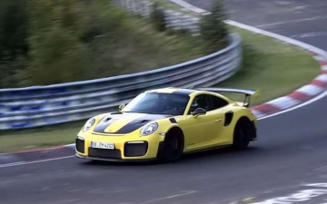 Michelin Porsche GT2 RS 15