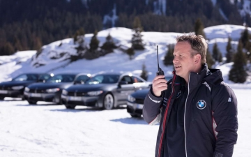 BMW winter driving experience 17