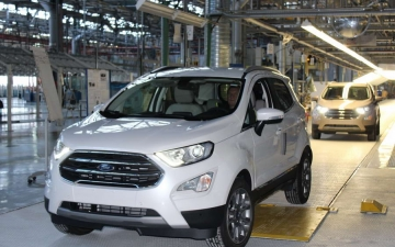 Ford EcoSport on the line 13