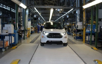Ford EcoSport on the line 14