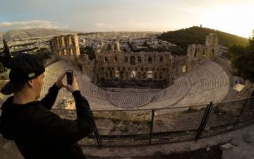 Steve Holcombe Odeon of herodes atticus