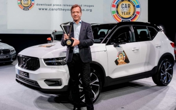 Volvo Car of the year 10