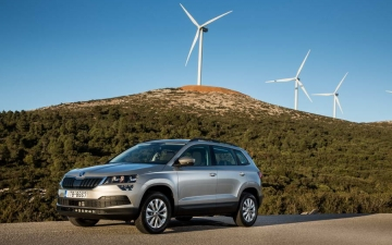 Skoda Karoq support systems 14