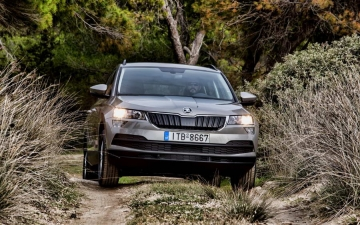 Skoda Karoq support systems 18