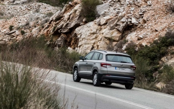 Skoda Karoq support systems 19