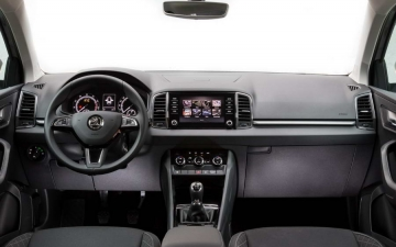 Skoda Karoq support systems 20