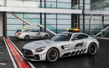 Mercedes F1 safety car 13