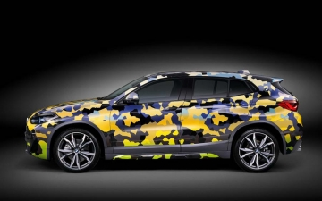 BMW X2  Digital Camouflage 11