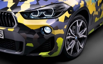 BMW X2  Digital Camouflage 16
