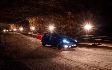 Ford Fiesta ST in a salt mine 13