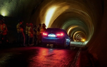 Ford Fiesta ST in a salt mine 14