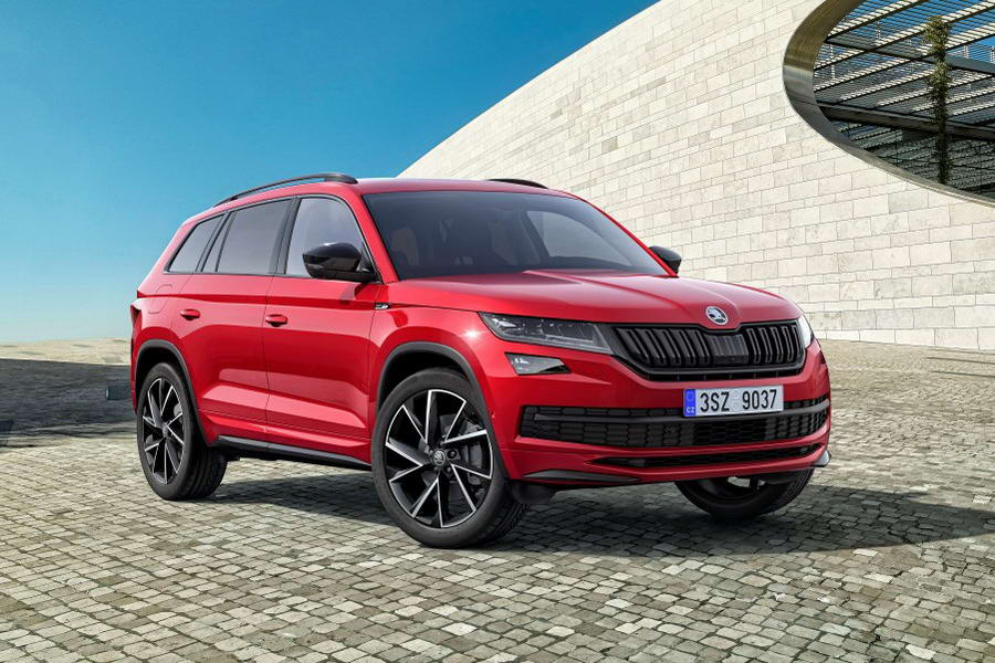 motorsite skoda kodiaq sportline scout. Black Bedroom Furniture Sets. Home Design Ideas