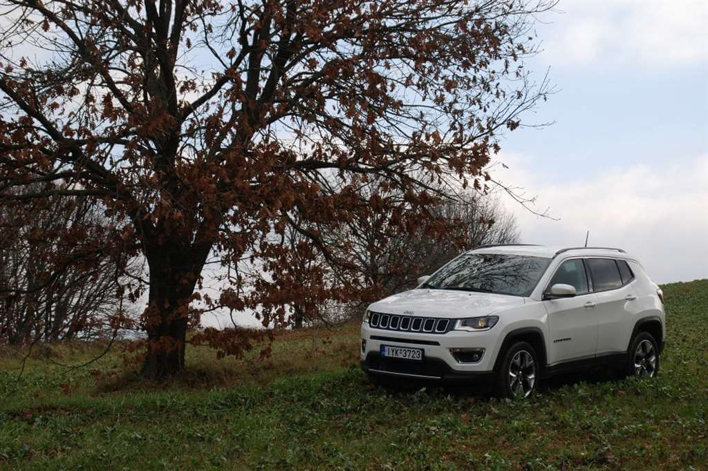 Οδηγούμε Jeep Compass 1,4 Τ 170hp  4×4 AT9 Limited
