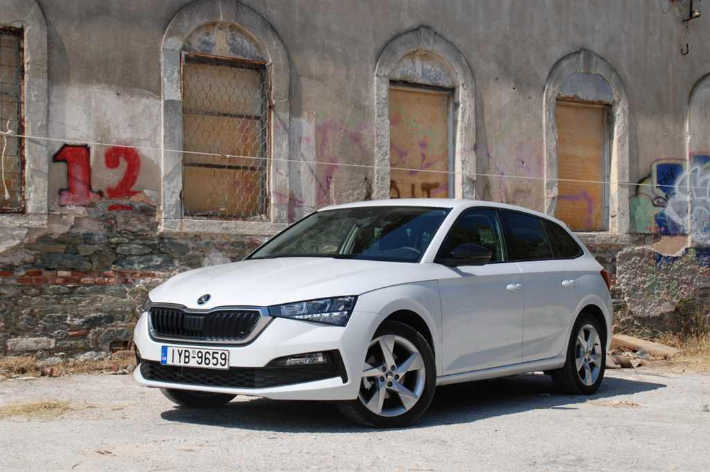 Οδηγούμε Skoda Scala 1,6 TDI 116ps