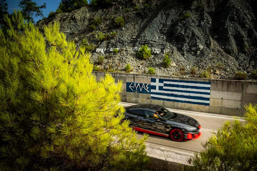Smart & Sustainable Island για το  Audi RS e-tron GT