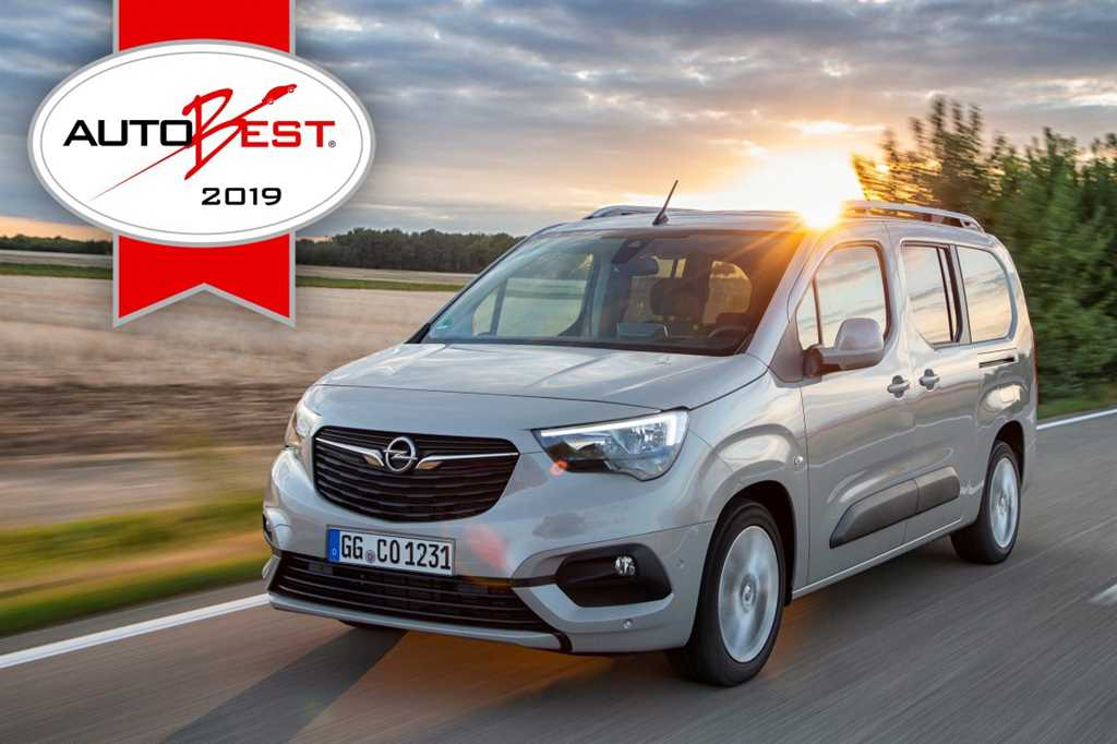 "Το Opel Combo Life είναι το ""Best Buy Car of Europe"""