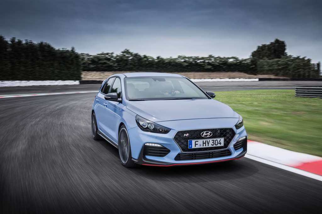 Sports Car Awards  Hyundai  i30 Fastback N