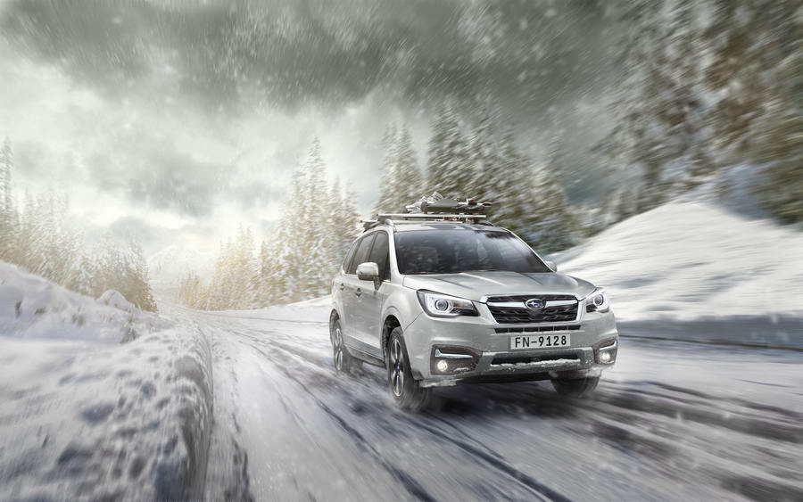 To Subaru Forester SUV 2017 στον Καναδά