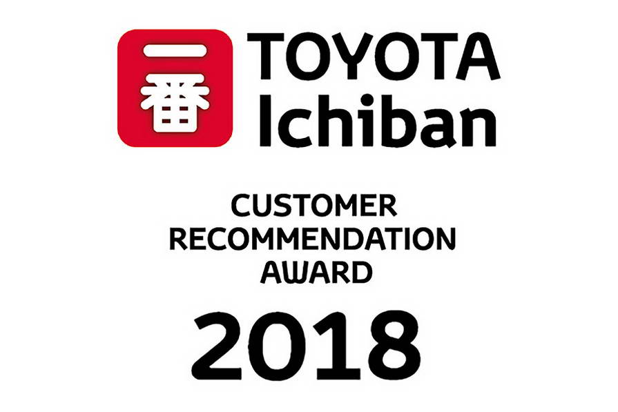 "Toyota ""Ichiban"" European Customer Recommendation Award"