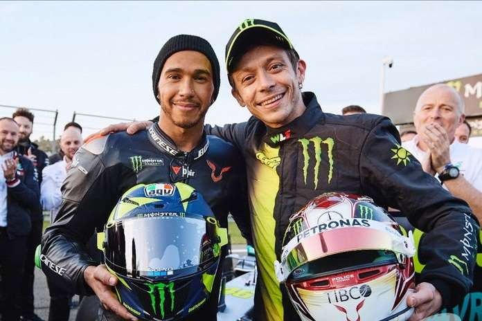 ROSSI / HAMILTON – THE SWAP